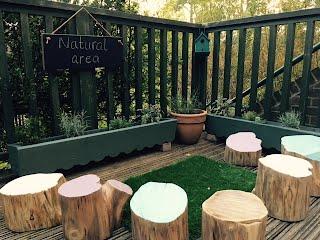 Caterpillars natural area!
