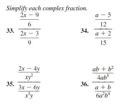 how to solve rational fractions