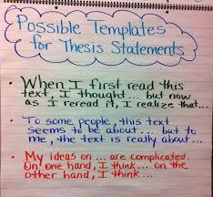 Writers web thesis statement