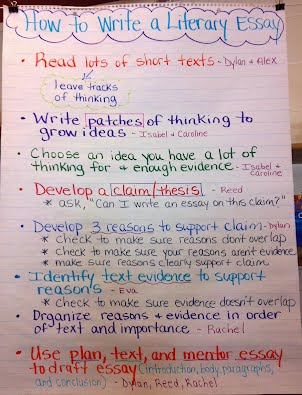 Write critical essay
