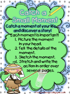 Using Small Moments Anchor Chart