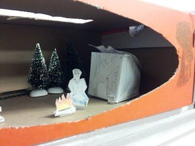 Christmas Shoebox Diorama.Hoovervilles 4th Grade
