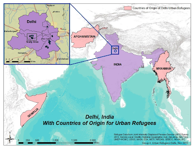 Livelihood and Security of Urban Refugees in Delhi, India