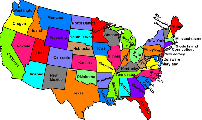Kindergarten 50 States Resources Mrs Burlesonscaffe's Aig Page
