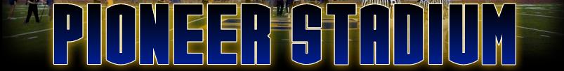 Pionner Stadium Banner