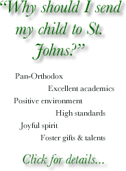 Why should I send my child to St. John's?