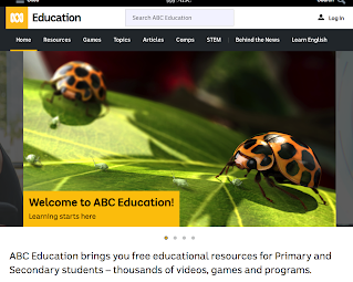 http://education.abc.net.au/home#!/home