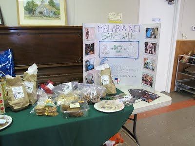 Nets for Life Bake Sale