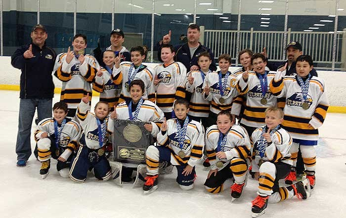 St. Peters hockey club team won tournament ...