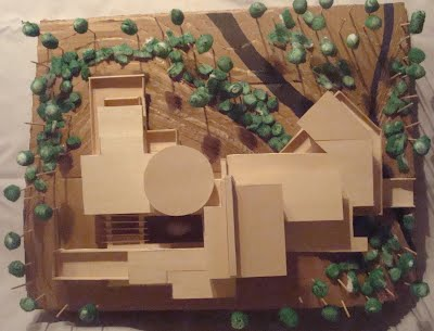 FLW inspired house model - Ryan Kilgannon