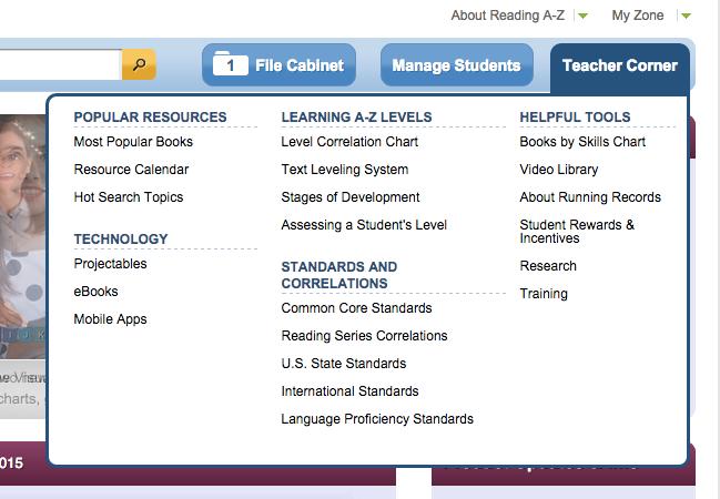 Teacher Corner Technology Learning Resources