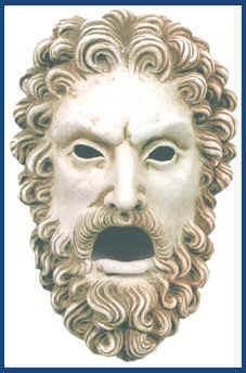 greek mask project