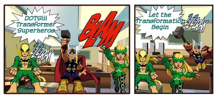 Comic Strip Creators - U32 Technology Integration