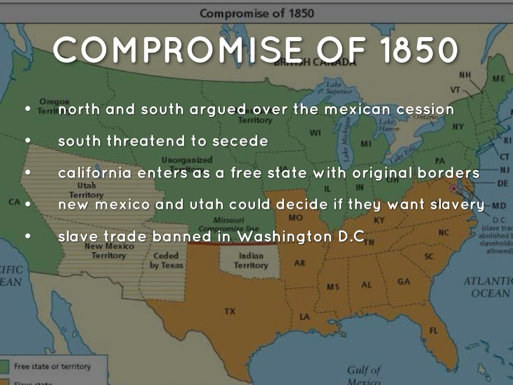 Compromise of 1850 - T...