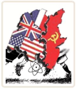 the history of the cold war between the united states and the soviet union The threat of a limited nuclear war in europe was now a possibility  relations  between the united states and the soviet union continued to worsen to try to.