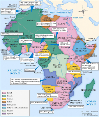 a reflection on imperialism in africa The new imperialism in africa expansion fueled by capitalist industrialism and nationalism brought previously unsubjugated lands under european control during the nineteenth century at its height the british empire alone consisted of over a quarter of the world's land mass and people by 1914 europe together with its.