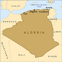Algeria Imperialism Project France - Largest country in africa