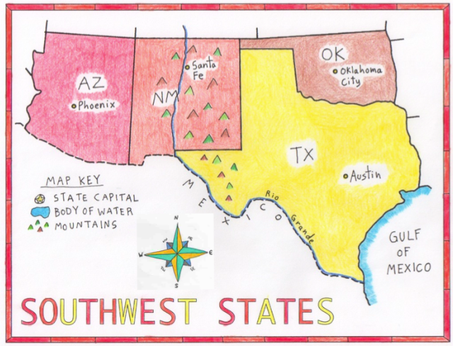 Study Guide for Southwest Quiz - Burney-Goldner Website
