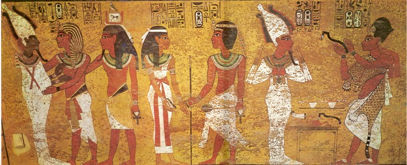 Paintings In King Tut S Burial Chamber