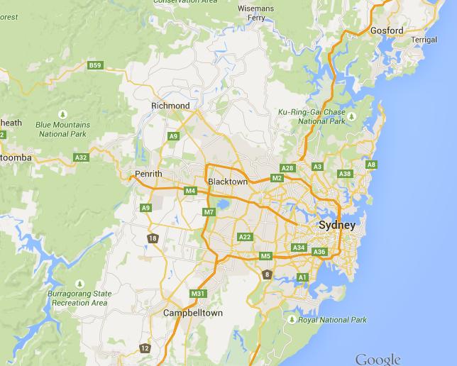 Major Landforms and Drainage Basins hsiekingsgrove – Map of Australia Landforms