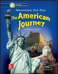 The American Journey (textbook) - UMS U S  History - Mrs  Kelley