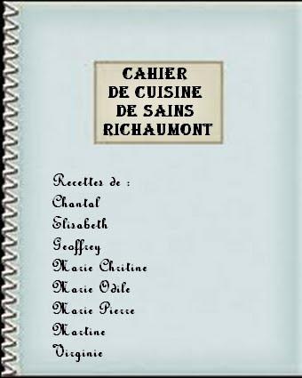 Les Cahiers De Cuisine De La Capelle Centre Socio Culturel Tac