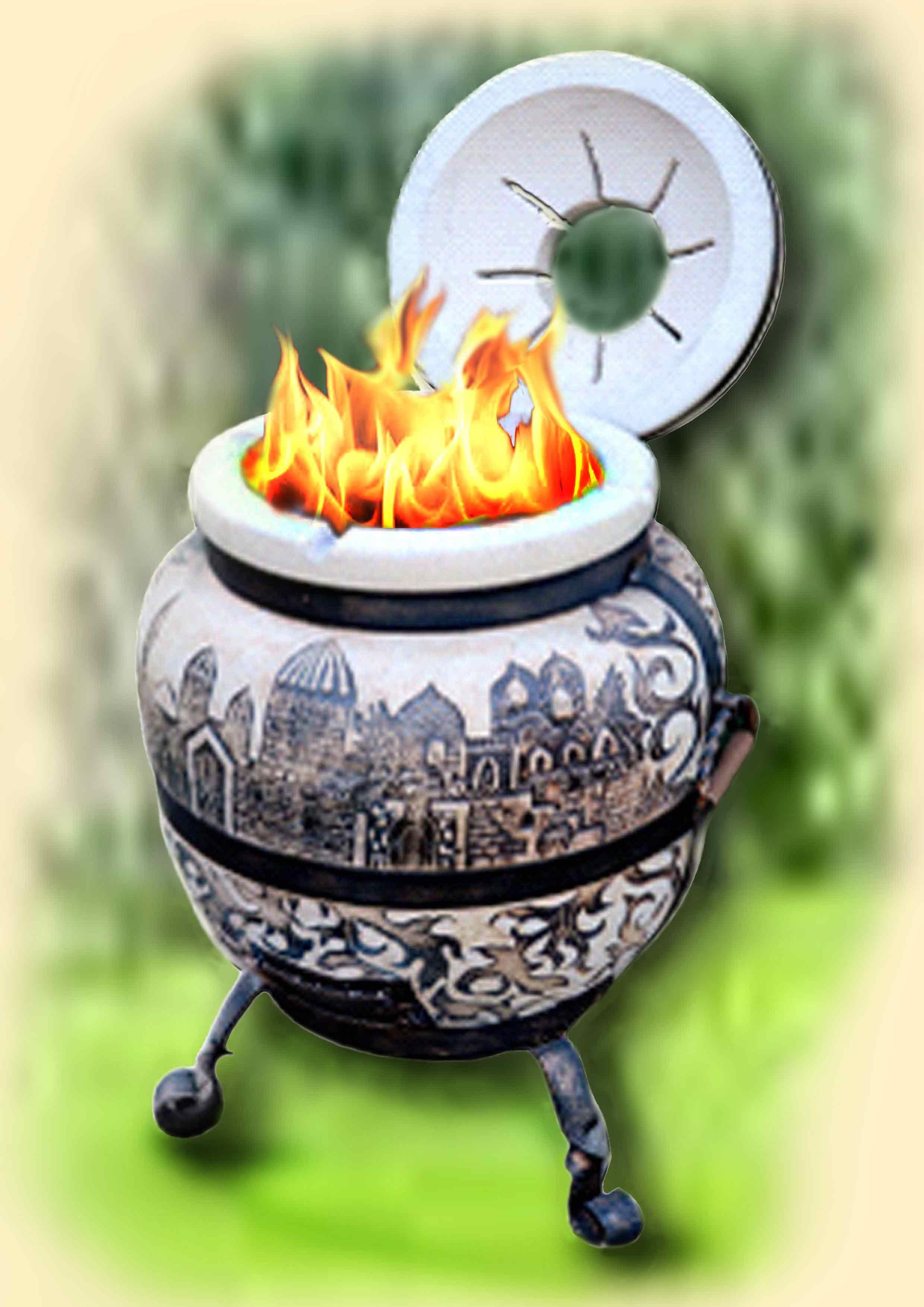 תנור טנדור מחימר שמוט. תנור  טאבון מחימר