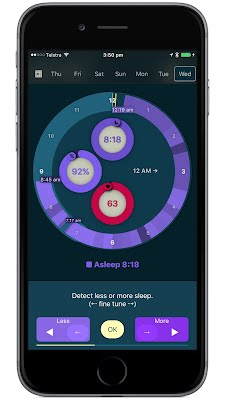 Detect Sleep Tuning Buttons