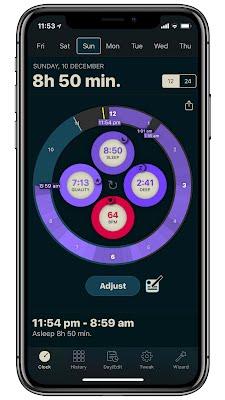 AutoSleep Sleep Clock