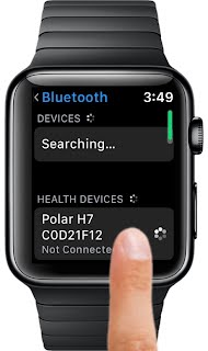 Watch Bluetooth Settings
