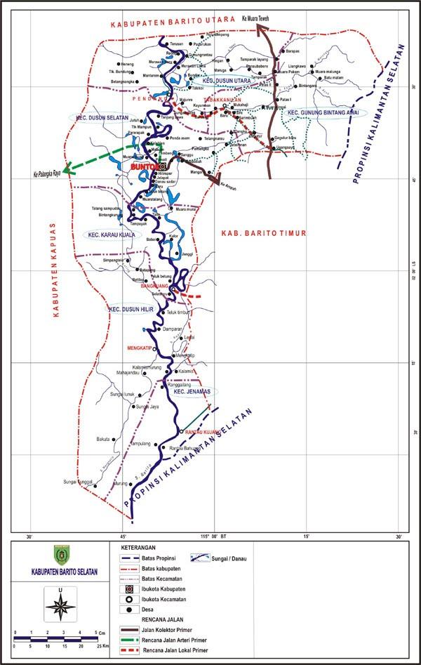 Kabupaten Barito Selatan Skpd Kalteng