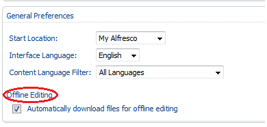 Offline Editing