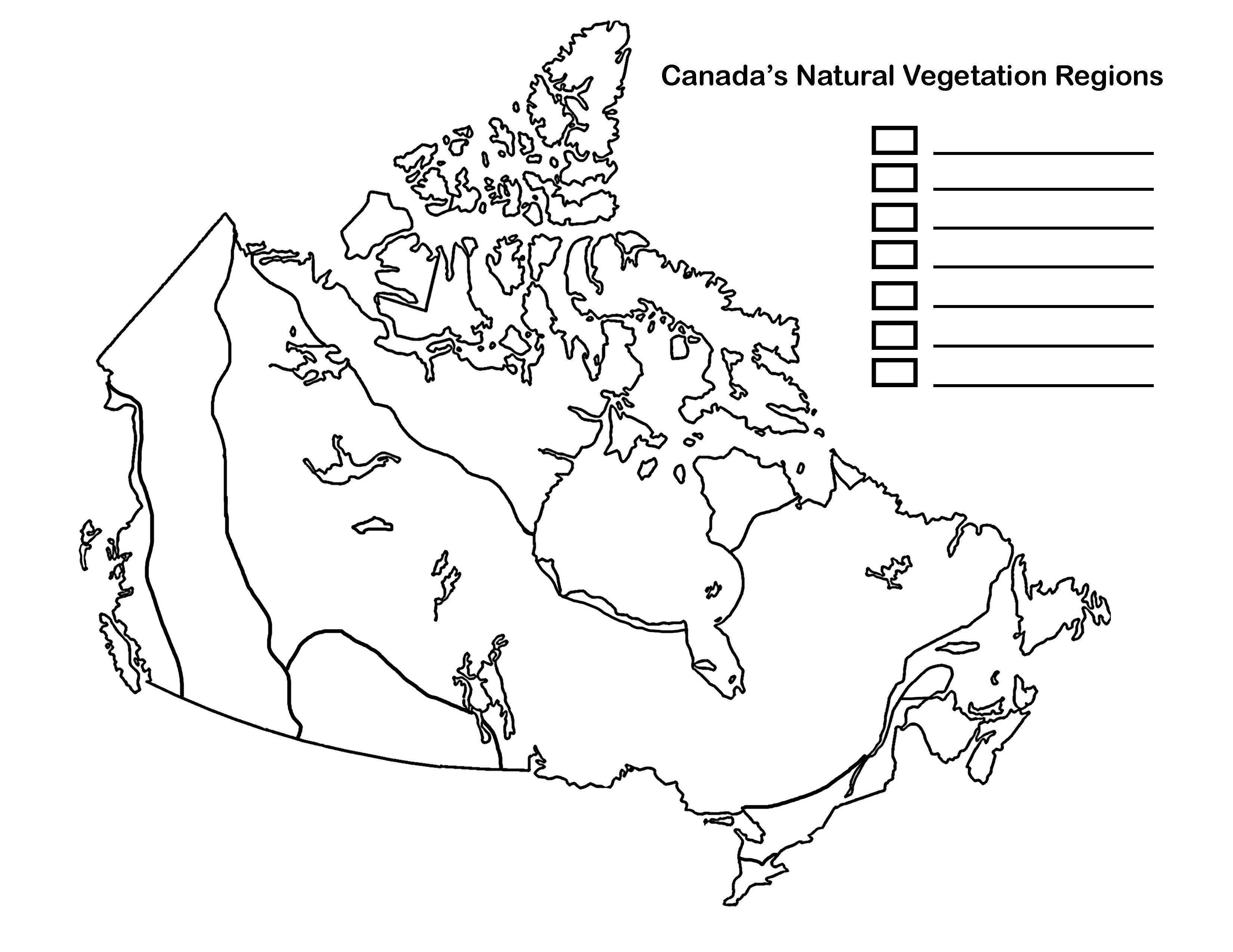 00  Canadian Veg Regions Map Blankjpg