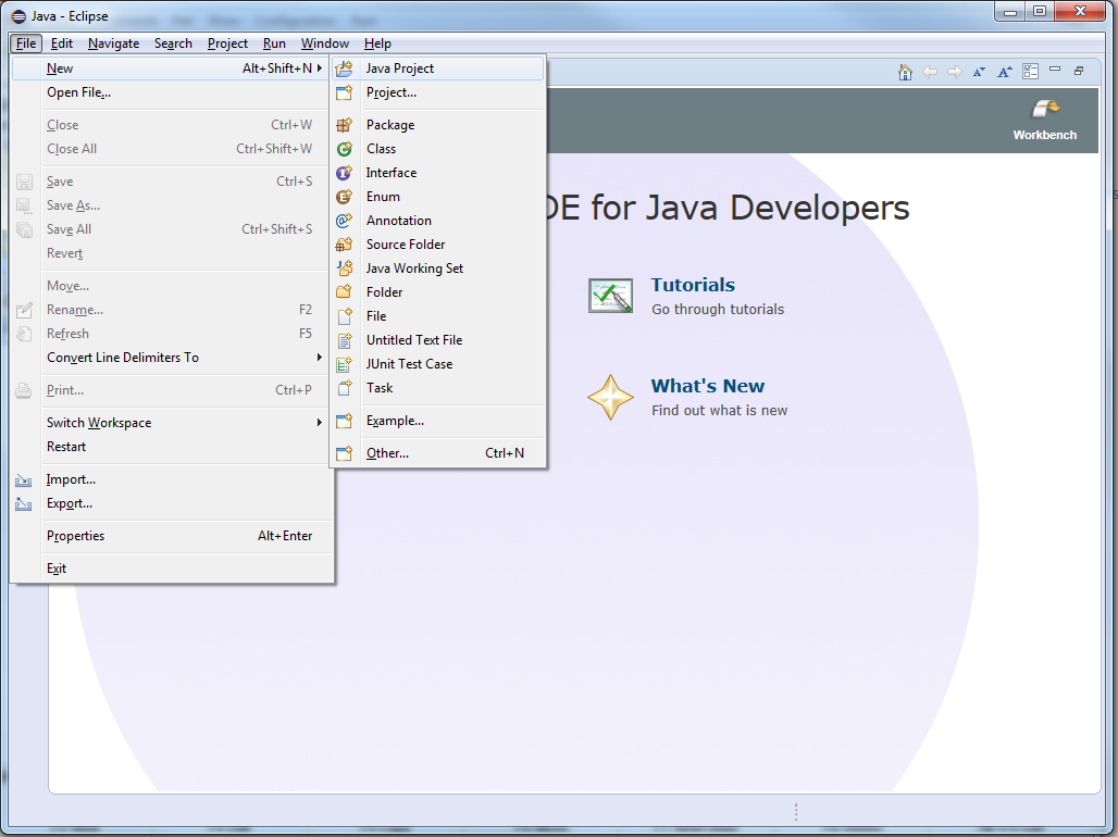 JxMaps in Eclipse - 1