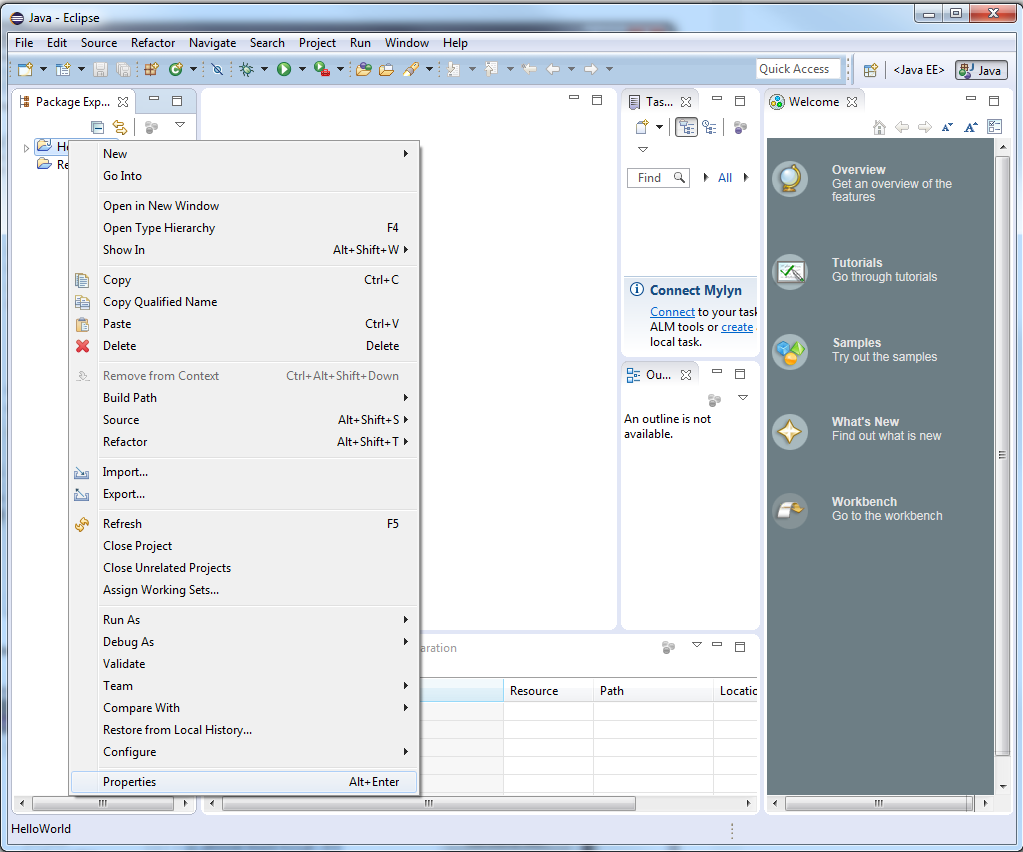 JxMaps in Eclipse - 3