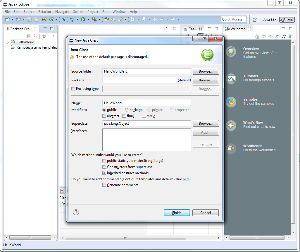 JxMaps in Eclipse - 6