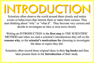 how to write an introduction for a project How to write your introduction, abstract and summary posted on march 25, 2012 updated on october 13, 2013 these.