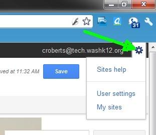 Google Sites Help