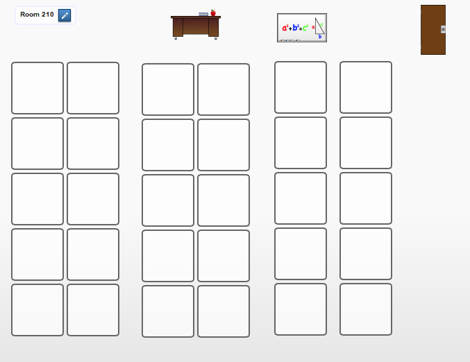 Seating Chart Template For Classroom Table Seating Arrangement – Seating Chart Template for Classroom