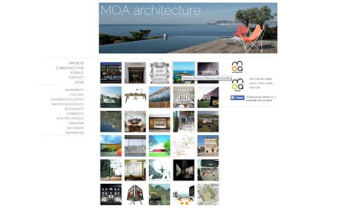site internet architecte