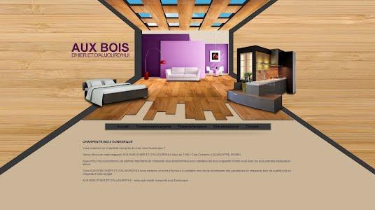 site internet client bois