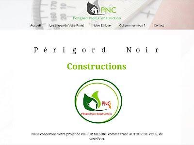 site internet perigord noir constructions