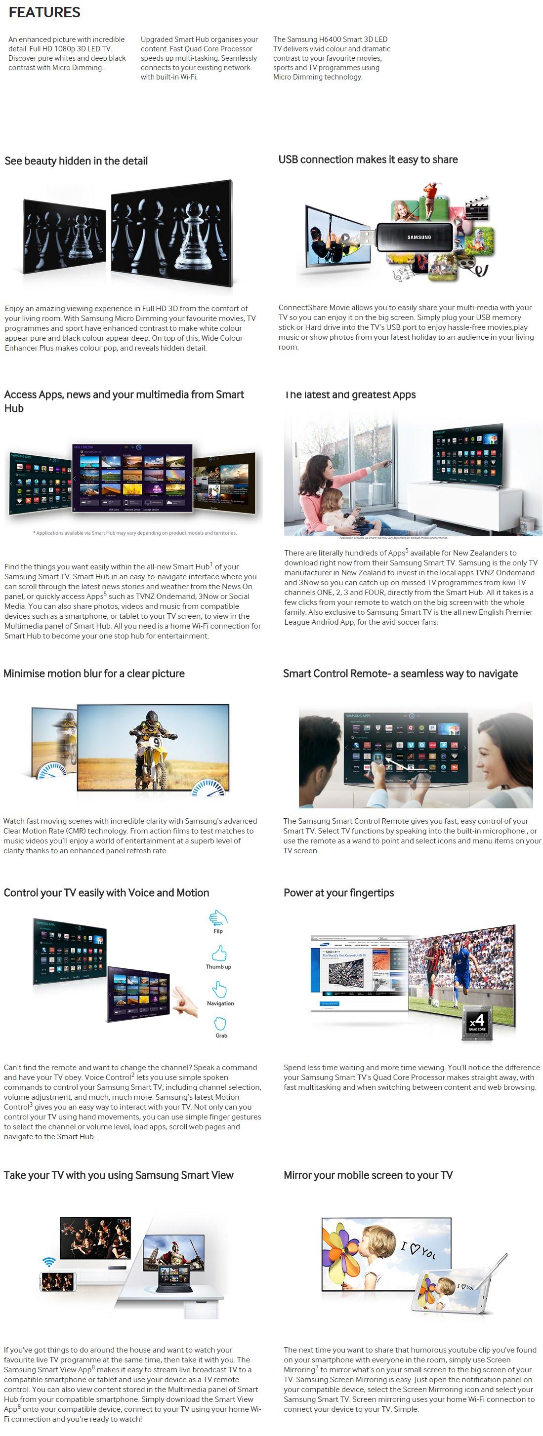samsung led tv series 6 6400 manual