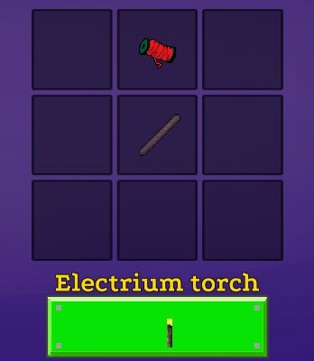 Torch Official Realmcraft Wiki Electrium Electrium Official Realmcraft Torch CxsQthdBr