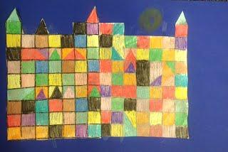 Paul Klee Castle And Sun Art Lower School Art