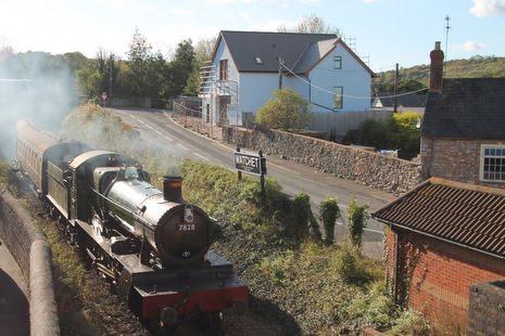 Steam Train Watchet