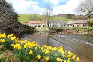 Exmoor cottage by the riverside