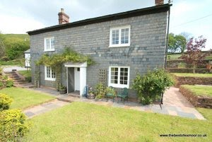 Exmoor cottage in rural location