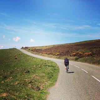 Cycling on Exmoor