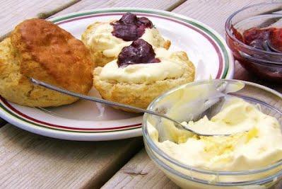 Luccombe Cream Tea